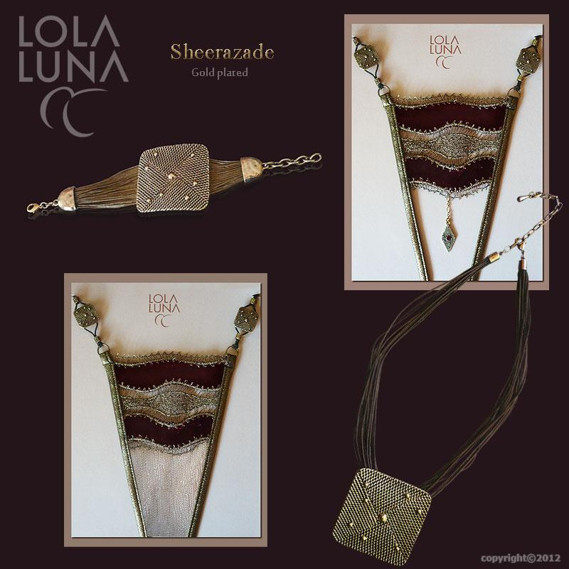 Sheerazade necklace